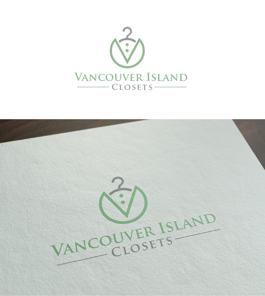 Logo Design by Juan Luna - Entry No. 59 in the Logo Design Contest Captivating Logo Design for Vancouver Island Closets.