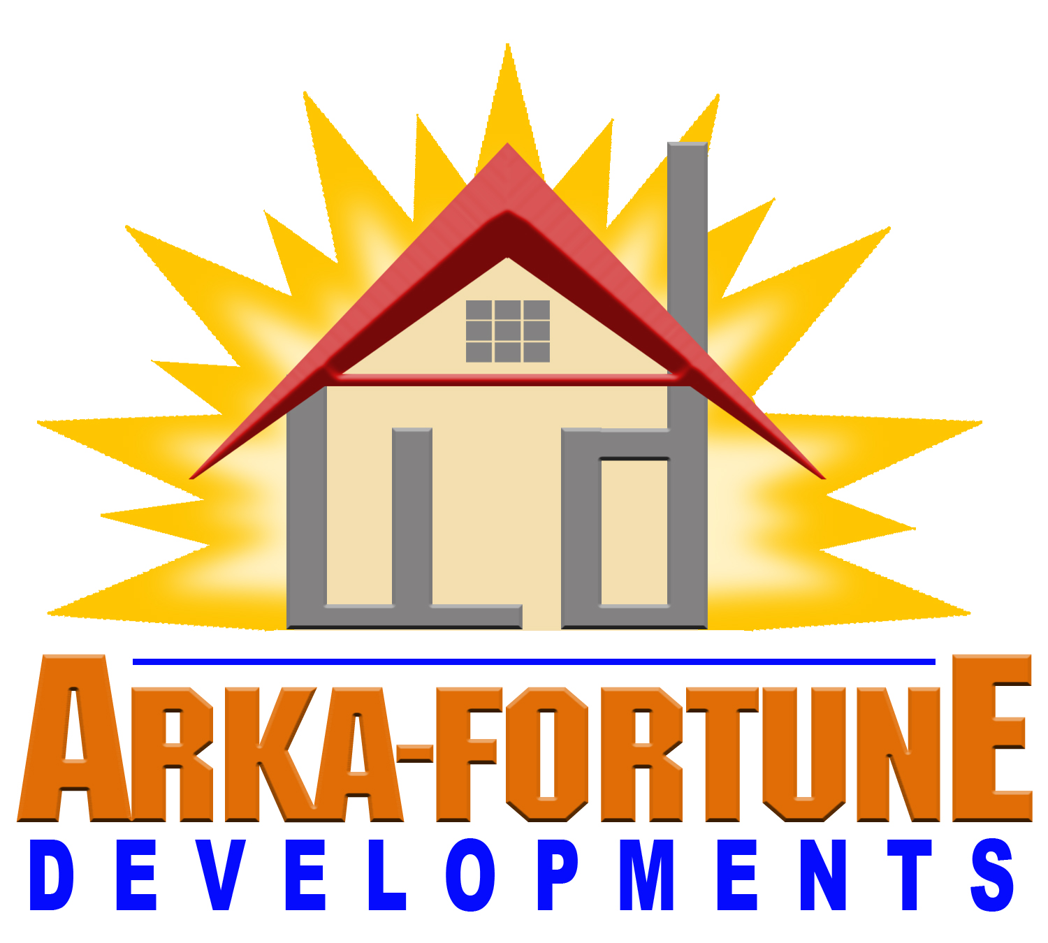 Logo Design by Kitz Malinao - Entry No. 32 in the Logo Design Contest Arka-Fortune Developments Logo Design.