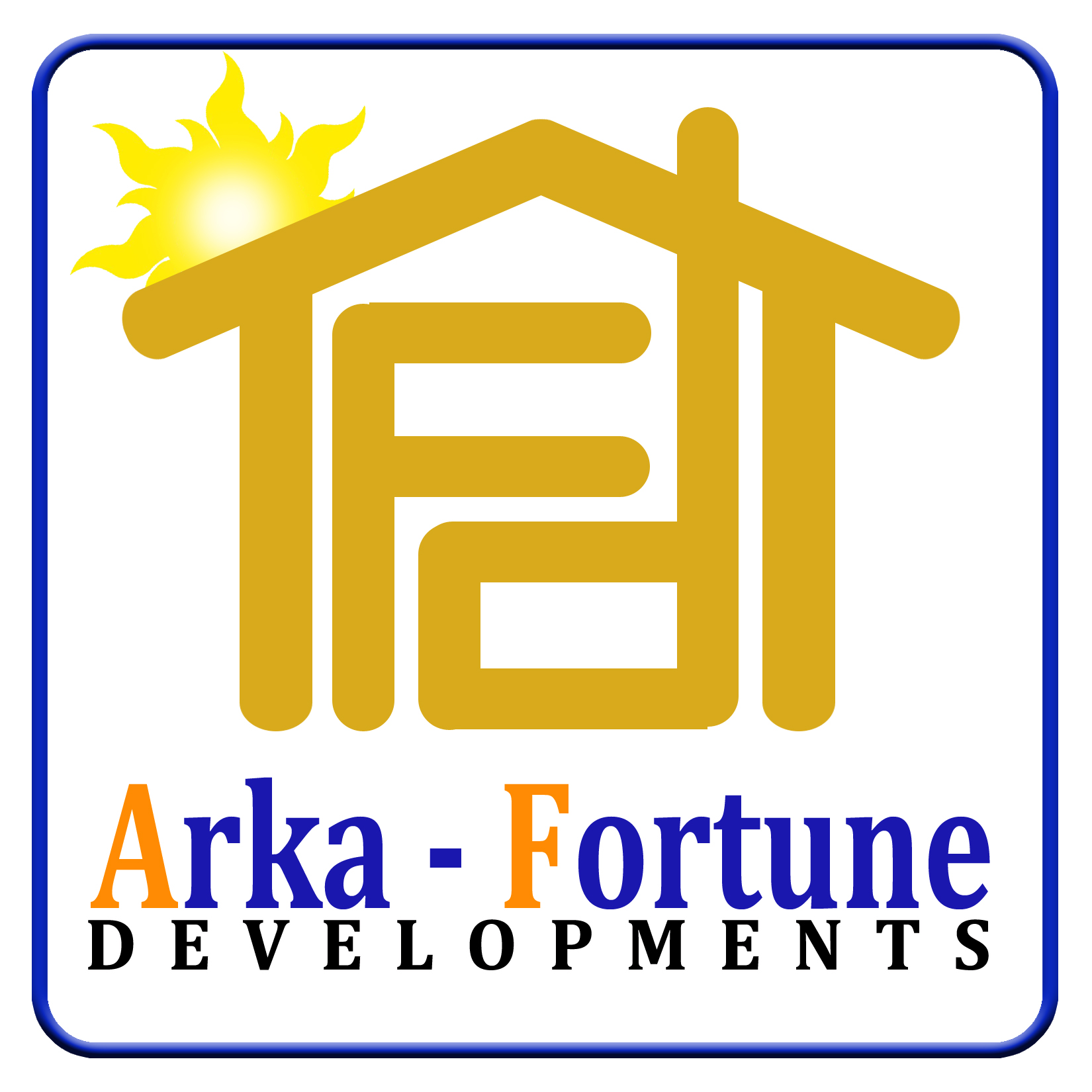 Logo Design by Kitz Malinao - Entry No. 35 in the Logo Design Contest Arka-Fortune Developments Logo Design.