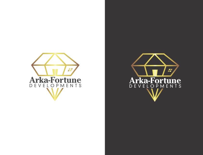 Logo Design by Catalina Grunefeld - Entry No. 38 in the Logo Design Contest Arka-Fortune Developments Logo Design.
