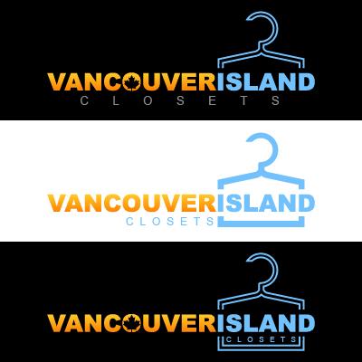 Logo Design by Mbelgedez - Entry No. 66 in the Logo Design Contest Captivating Logo Design for Vancouver Island Closets.