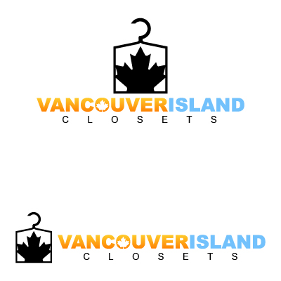 Logo Design by Mbelgedez - Entry No. 67 in the Logo Design Contest Captivating Logo Design for Vancouver Island Closets.
