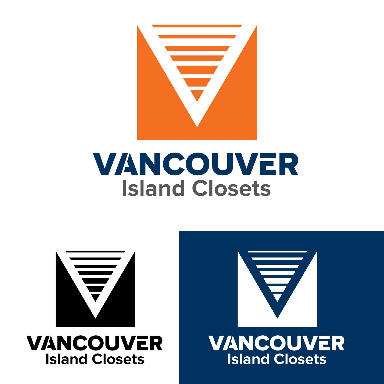 Logo Design by Bac Huu - Entry No. 68 in the Logo Design Contest Captivating Logo Design for Vancouver Island Closets.