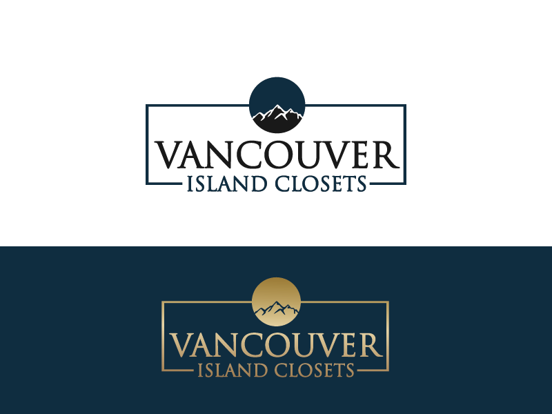 Logo Design by Private User - Entry No. 69 in the Logo Design Contest Captivating Logo Design for Vancouver Island Closets.