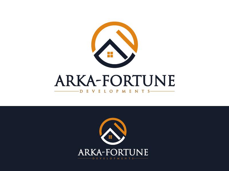 Logo Design by Private User - Entry No. 39 in the Logo Design Contest Arka-Fortune Developments Logo Design.