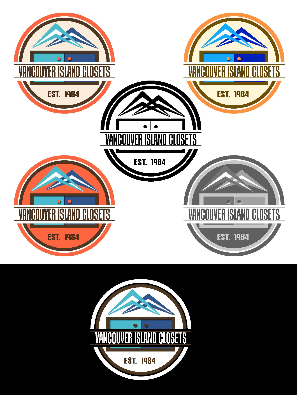 Logo Design by JSDESIGNGROUP - Entry No. 77 in the Logo Design Contest Captivating Logo Design for Vancouver Island Closets.
