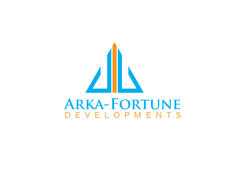 Logo Design by roc - Entry No. 47 in the Logo Design Contest Arka-Fortune Developments Logo Design.