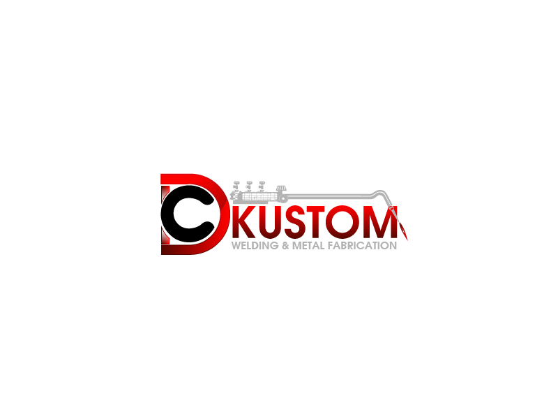 Logo Design by Private User - Entry No. 1 in the Logo Design Contest Imaginative Logo Design for DC KUSTOM WELDING & METAL FABRICATION.
