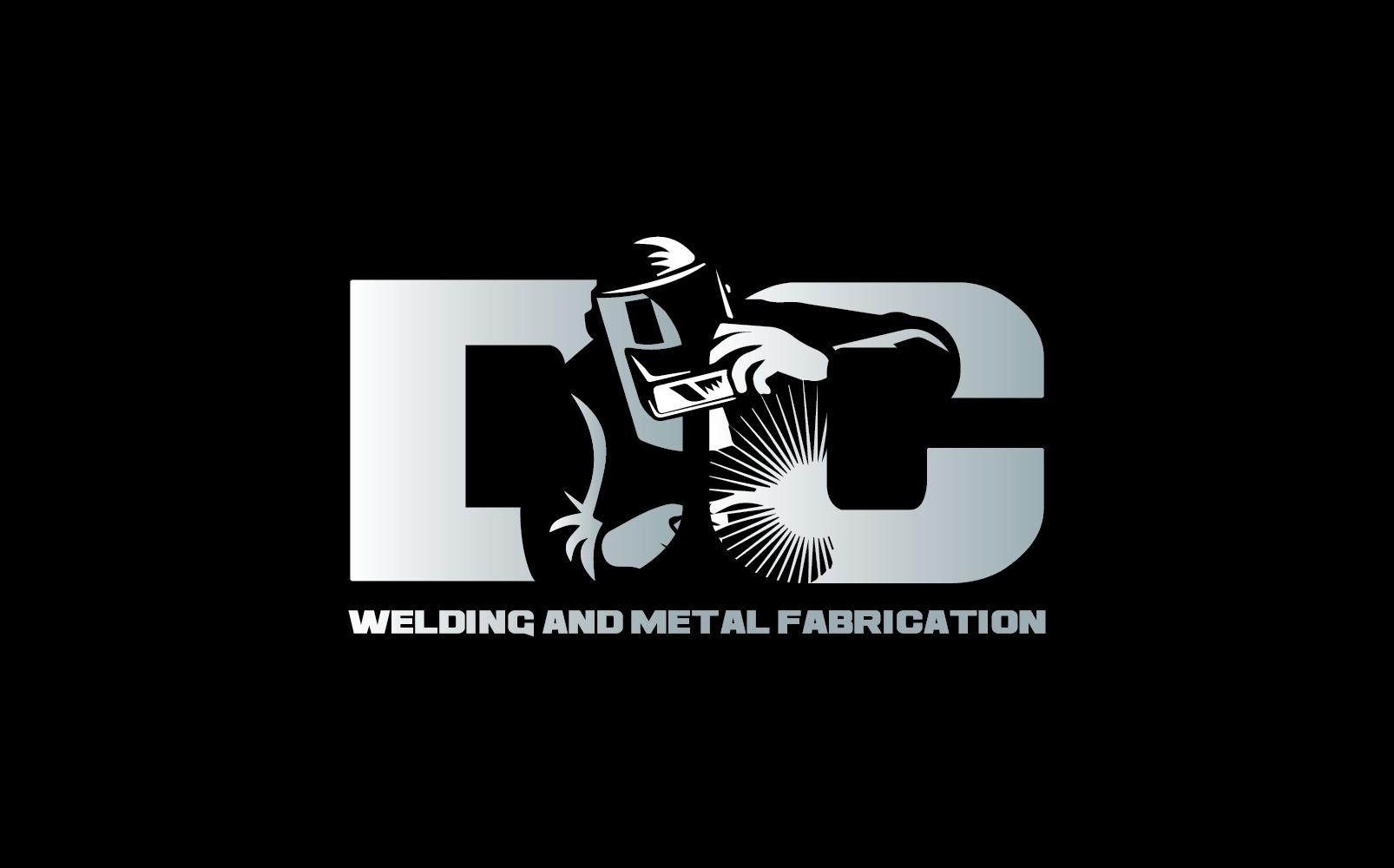 Logo Design by pojas12 - Entry No. 3 in the Logo Design Contest Imaginative Logo Design for DC KUSTOM WELDING & METAL FABRICATION.