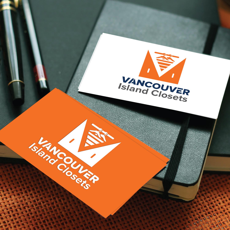 Logo Design by Bac Huu - Entry No. 84 in the Logo Design Contest Captivating Logo Design for Vancouver Island Closets.