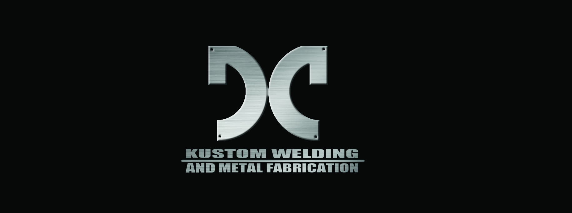 Logo Design by Arqui ACOSTA - Entry No. 5 in the Logo Design Contest Imaginative Logo Design for DC KUSTOM WELDING & METAL FABRICATION.