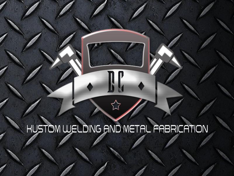 Logo Design by John Melvie Sulla - Entry No. 9 in the Logo Design Contest Imaginative Logo Design for DC KUSTOM WELDING & METAL FABRICATION.