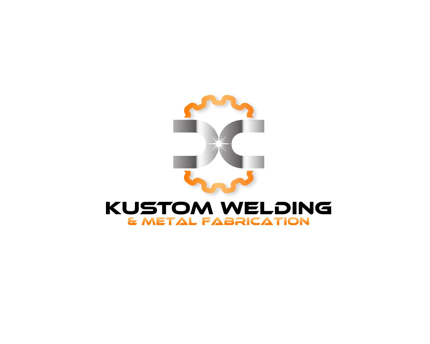 Logo Design by Allan Esclamado - Entry No. 11 in the Logo Design Contest Imaginative Logo Design for DC KUSTOM WELDING & METAL FABRICATION.