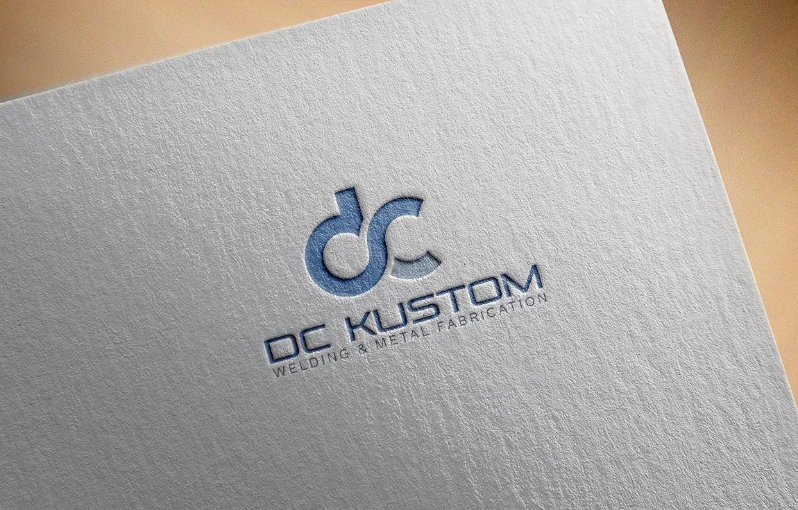 Logo Design by roc - Entry No. 18 in the Logo Design Contest Imaginative Logo Design for DC KUSTOM WELDING & METAL FABRICATION.
