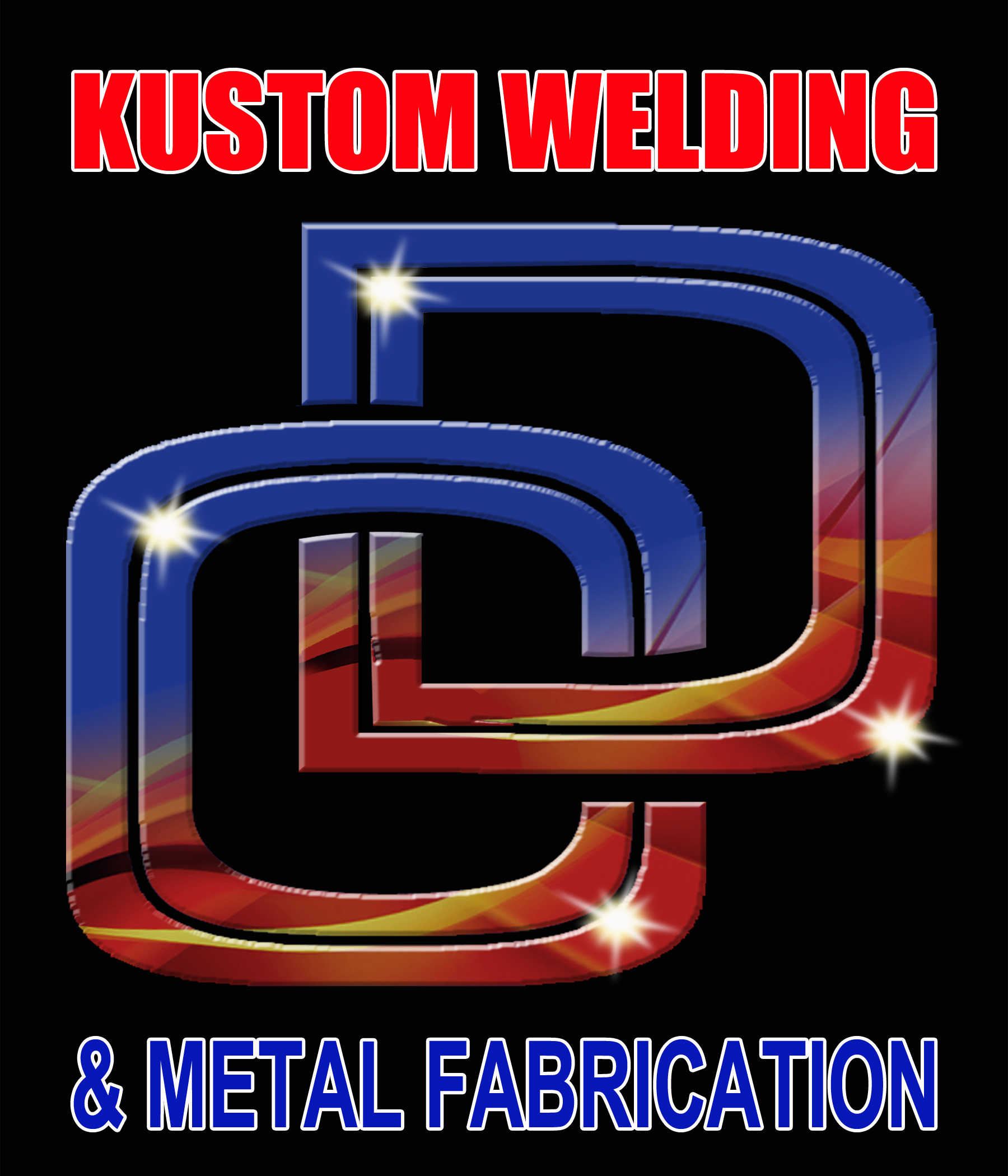Logo Design by Kitz Malinao - Entry No. 21 in the Logo Design Contest Imaginative Logo Design for DC KUSTOM WELDING & METAL FABRICATION.
