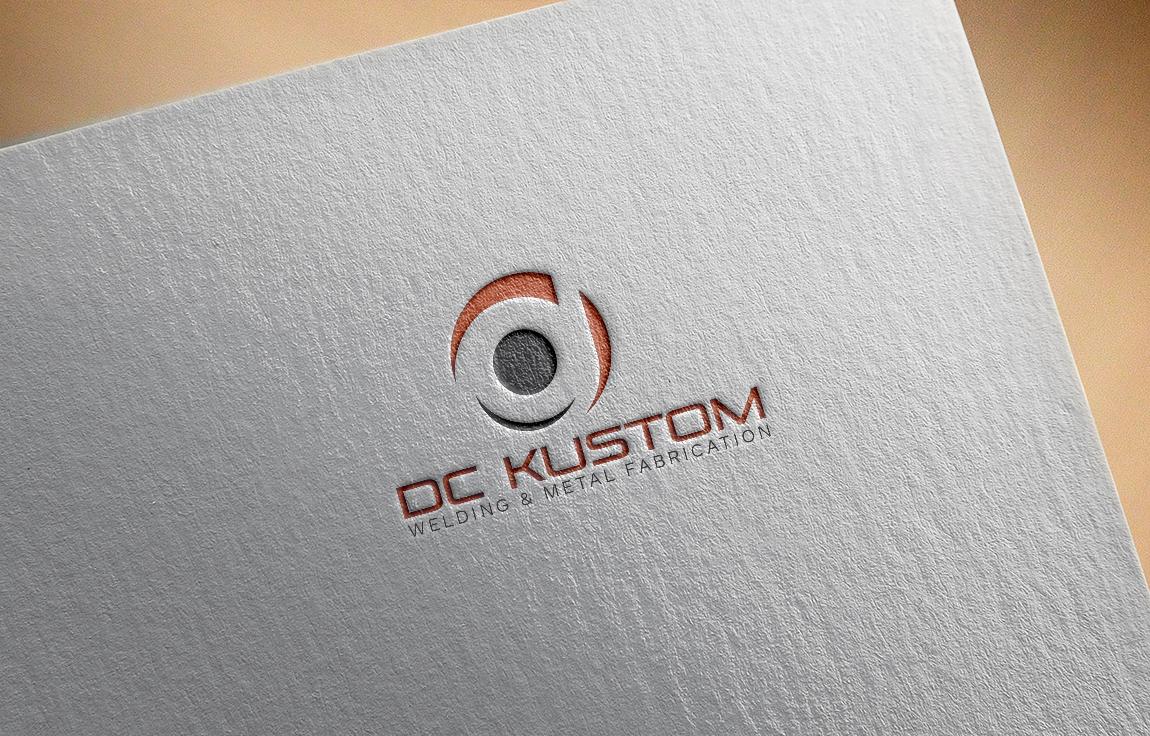 Logo Design by roc - Entry No. 23 in the Logo Design Contest Imaginative Logo Design for DC KUSTOM WELDING & METAL FABRICATION.