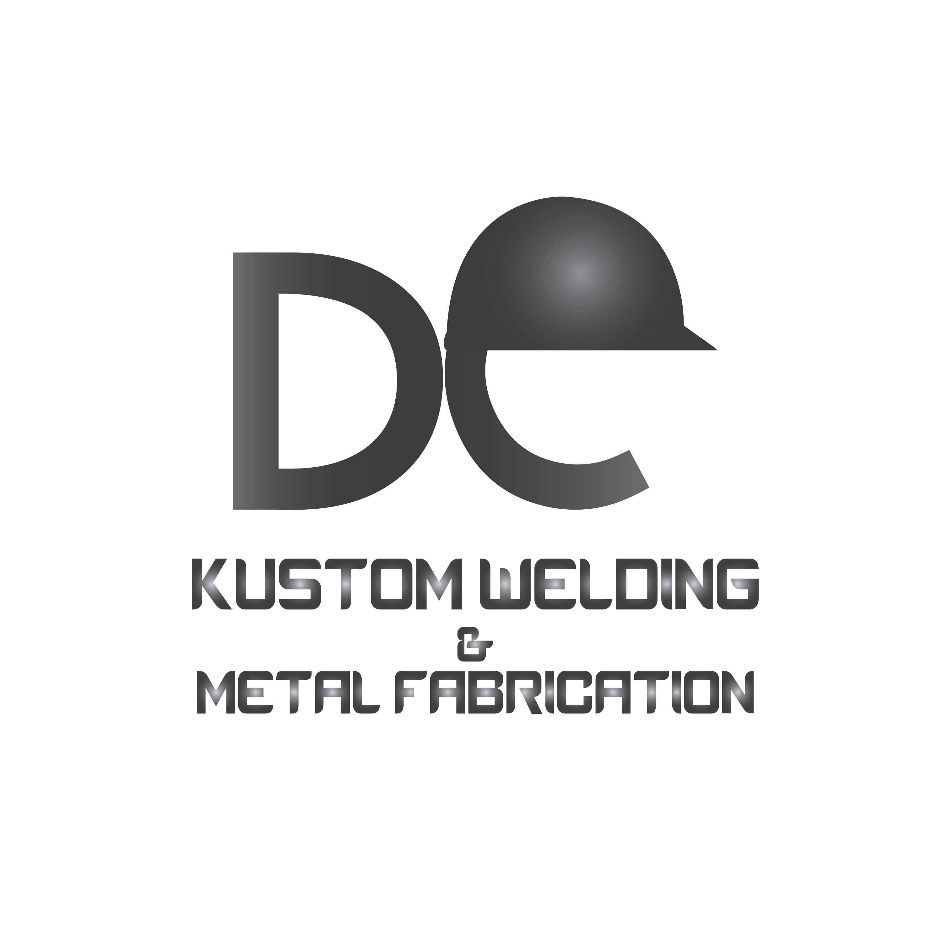 Logo Design by Aehab Asghar - Entry No. 28 in the Logo Design Contest Imaginative Logo Design for DC KUSTOM WELDING & METAL FABRICATION.