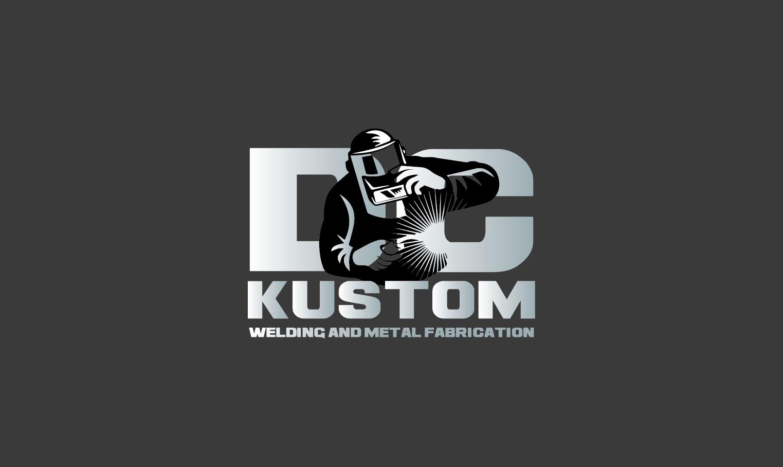 Logo Design by pojas12 - Entry No. 29 in the Logo Design Contest Imaginative Logo Design for DC KUSTOM WELDING & METAL FABRICATION.