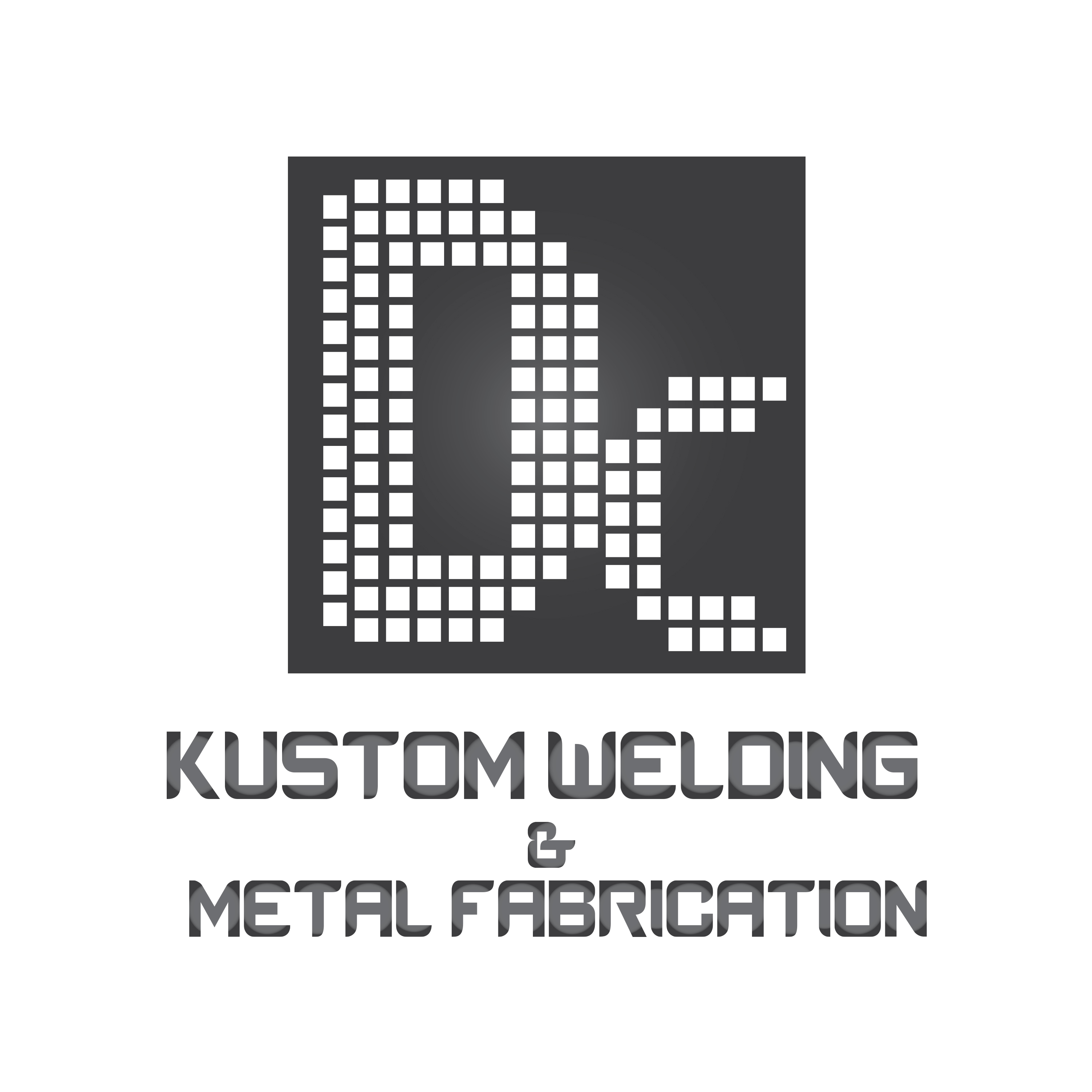 Logo Design by Aehab Asghar - Entry No. 30 in the Logo Design Contest Imaginative Logo Design for DC KUSTOM WELDING & METAL FABRICATION.