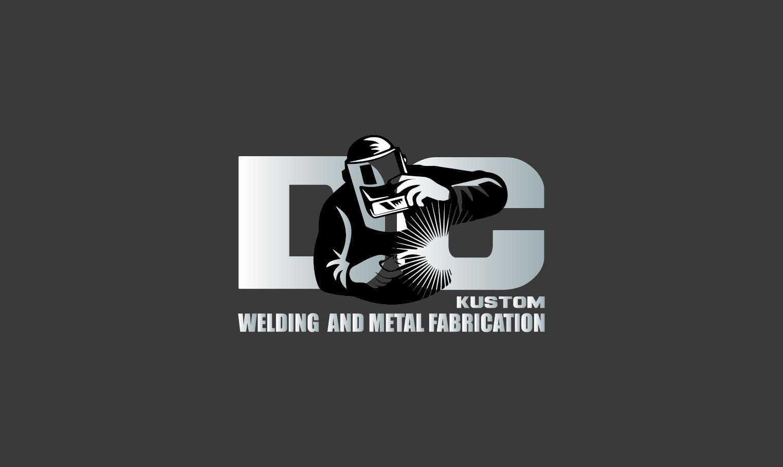 Logo Design by pojas12 - Entry No. 31 in the Logo Design Contest Imaginative Logo Design for DC KUSTOM WELDING & METAL FABRICATION.