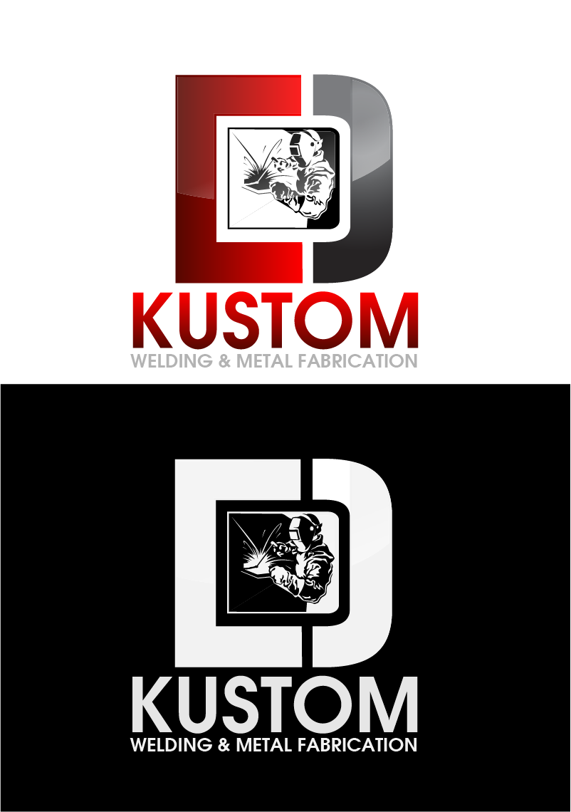 Logo Design by Private User - Entry No. 34 in the Logo Design Contest Imaginative Logo Design for DC KUSTOM WELDING & METAL FABRICATION.