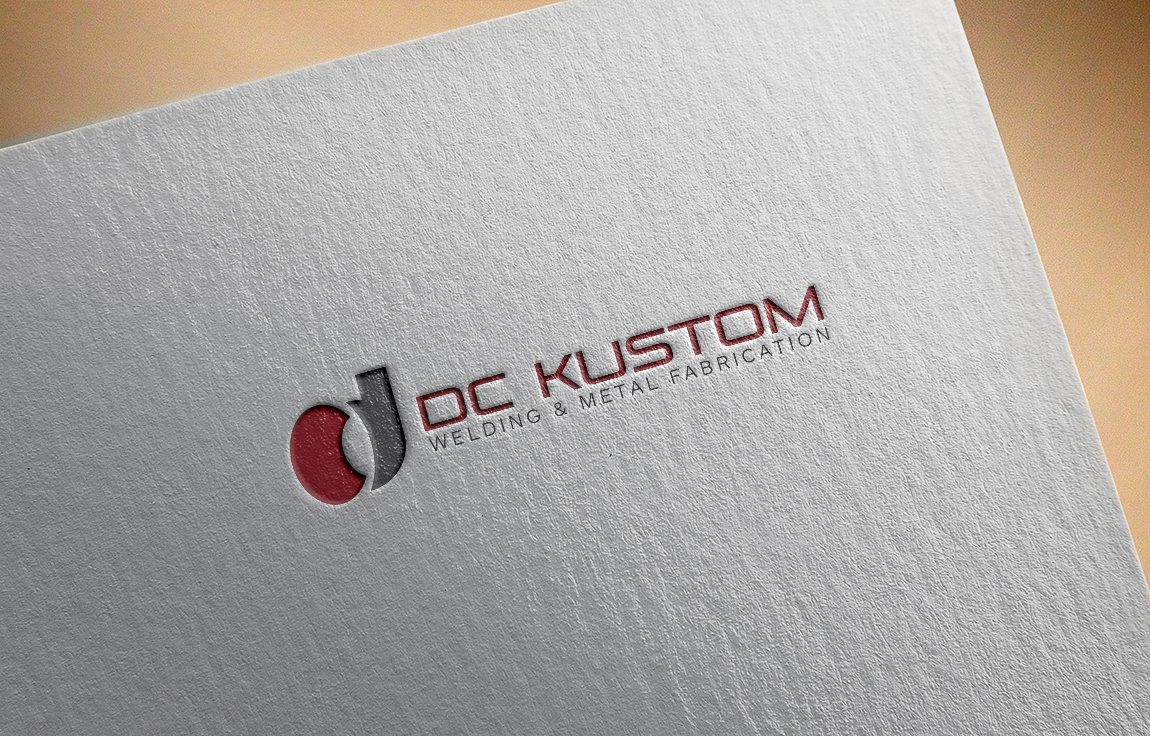 Logo Design by roc - Entry No. 36 in the Logo Design Contest Imaginative Logo Design for DC KUSTOM WELDING & METAL FABRICATION.