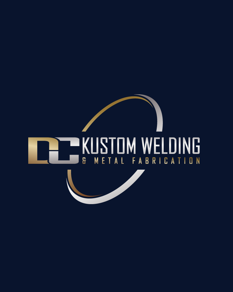 Logo Design by Private User - Entry No. 41 in the Logo Design Contest Imaginative Logo Design for DC KUSTOM WELDING & METAL FABRICATION.
