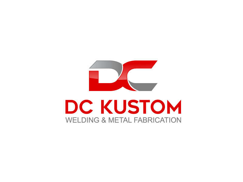 Logo Design by Private User - Entry No. 48 in the Logo Design Contest Imaginative Logo Design for DC KUSTOM WELDING & METAL FABRICATION.