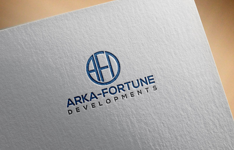 Logo Design by Private User - Entry No. 62 in the Logo Design Contest Arka-Fortune Developments Logo Design.