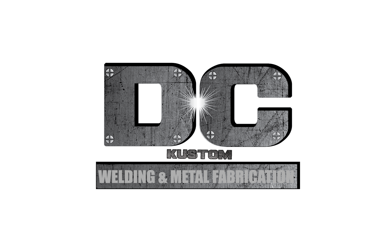 Logo Design by pojas12 - Entry No. 54 in the Logo Design Contest Imaginative Logo Design for DC KUSTOM WELDING & METAL FABRICATION.