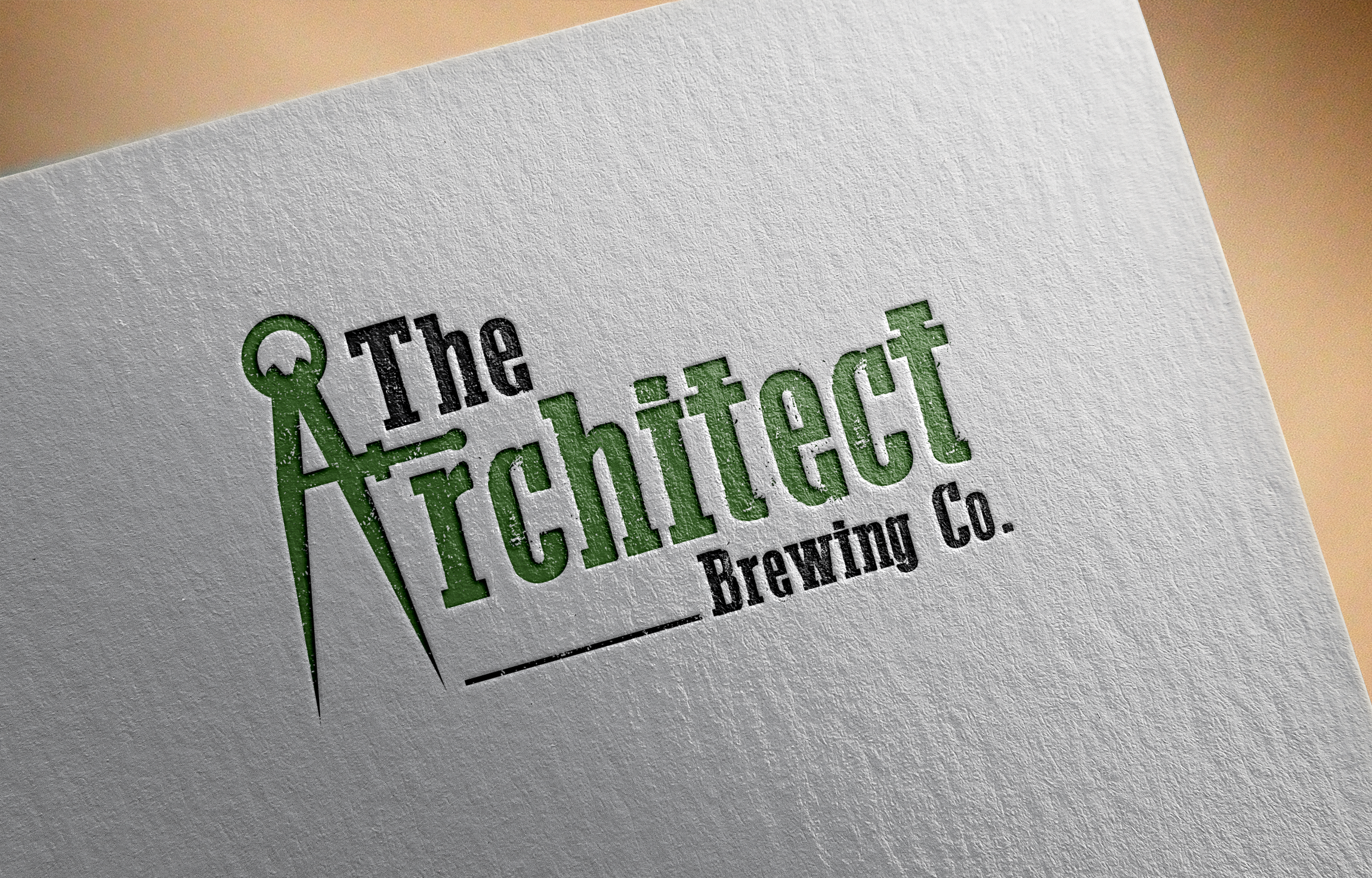 Logo Design by Net Bih - Entry No. 5 in the Logo Design Contest Captivating Logo Design for The Architect Brewing Co..