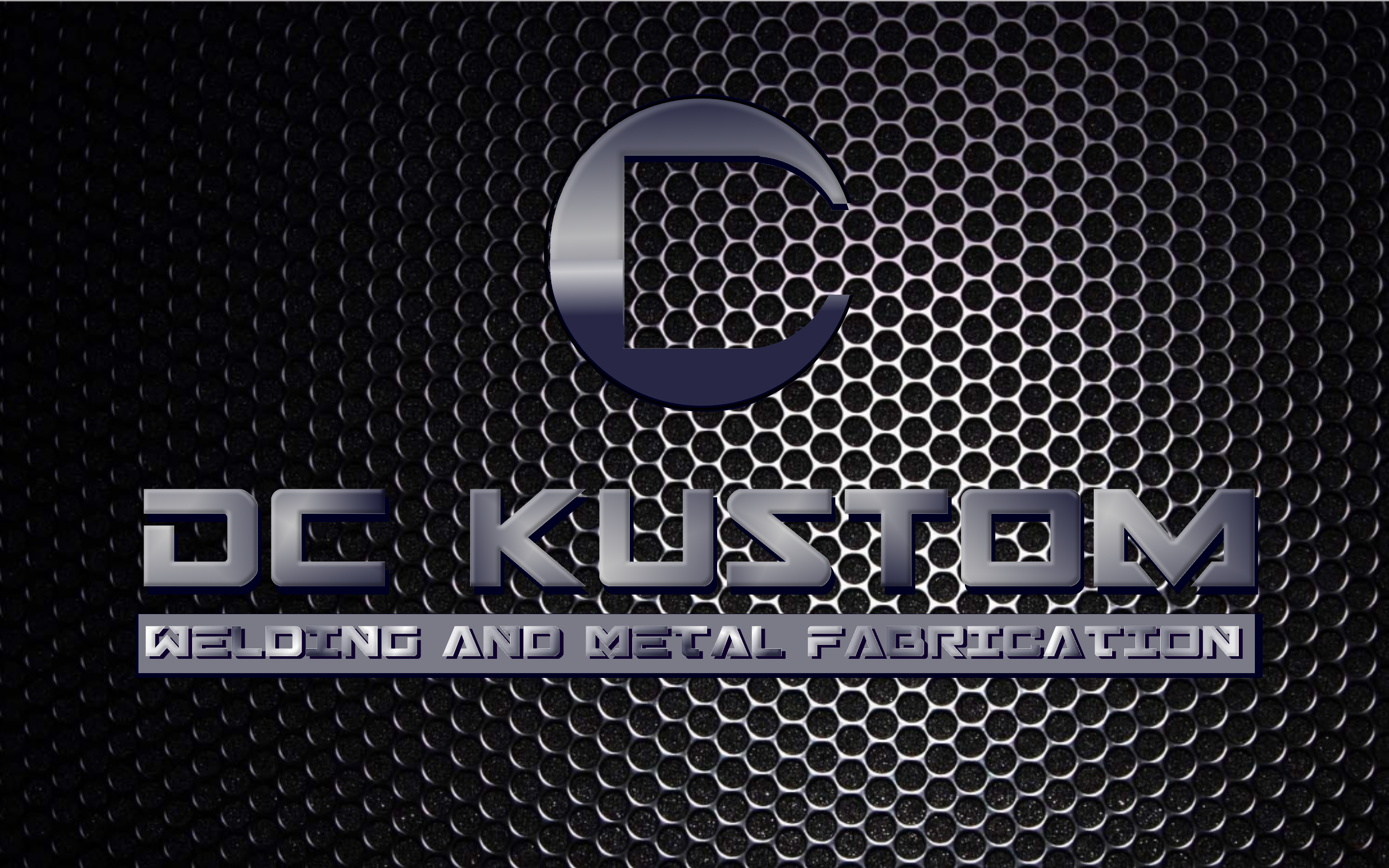 Logo Design by Roberto Bassi - Entry No. 76 in the Logo Design Contest Imaginative Logo Design for DC KUSTOM WELDING & METAL FABRICATION.