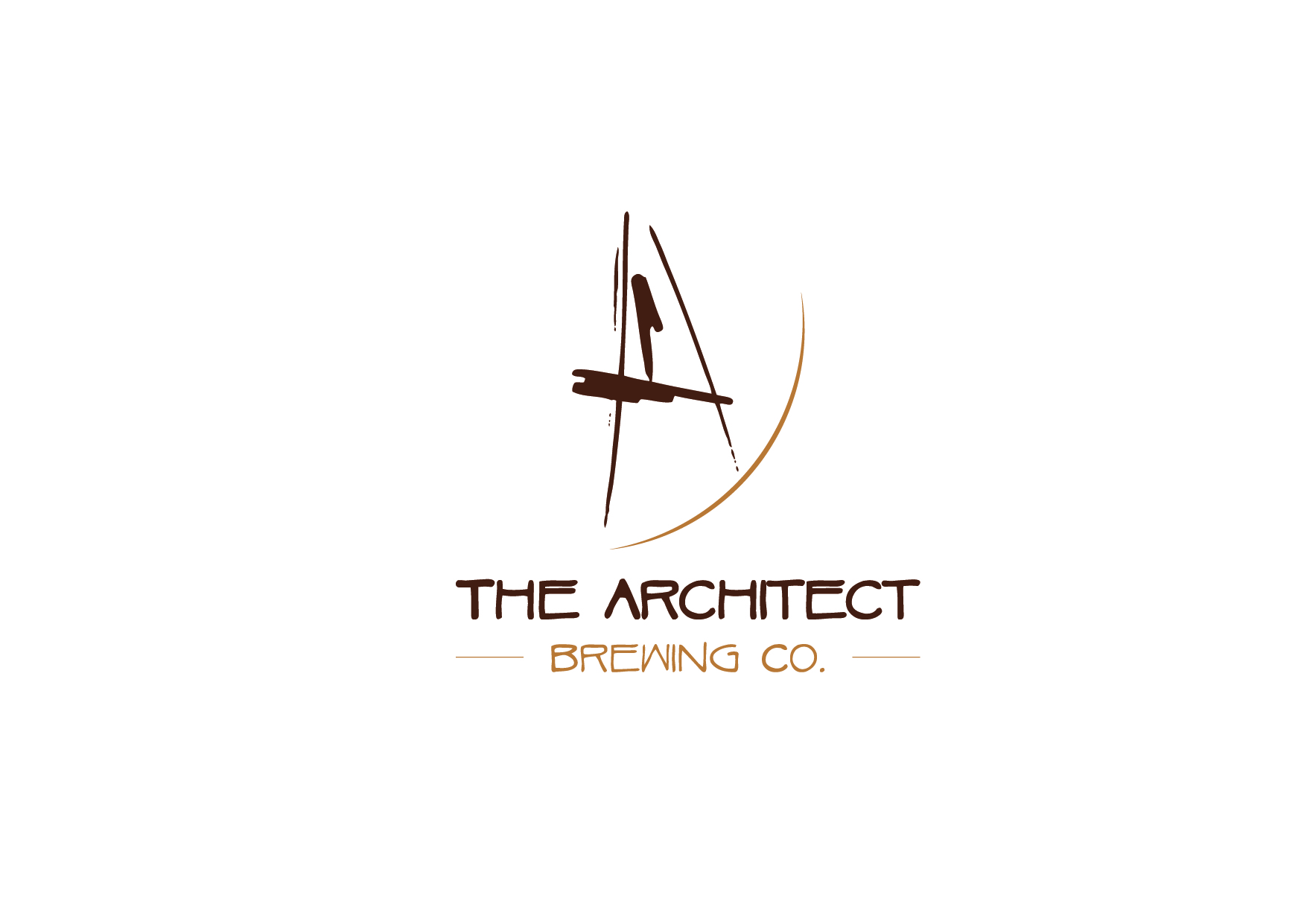 Logo Design by Kirallos Henin - Entry No. 14 in the Logo Design Contest Captivating Logo Design for The Architect Brewing Co..