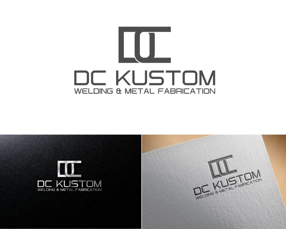 Logo Design by Mohammad azad Hossain - Entry No. 77 in the Logo Design Contest Imaginative Logo Design for DC KUSTOM WELDING & METAL FABRICATION.