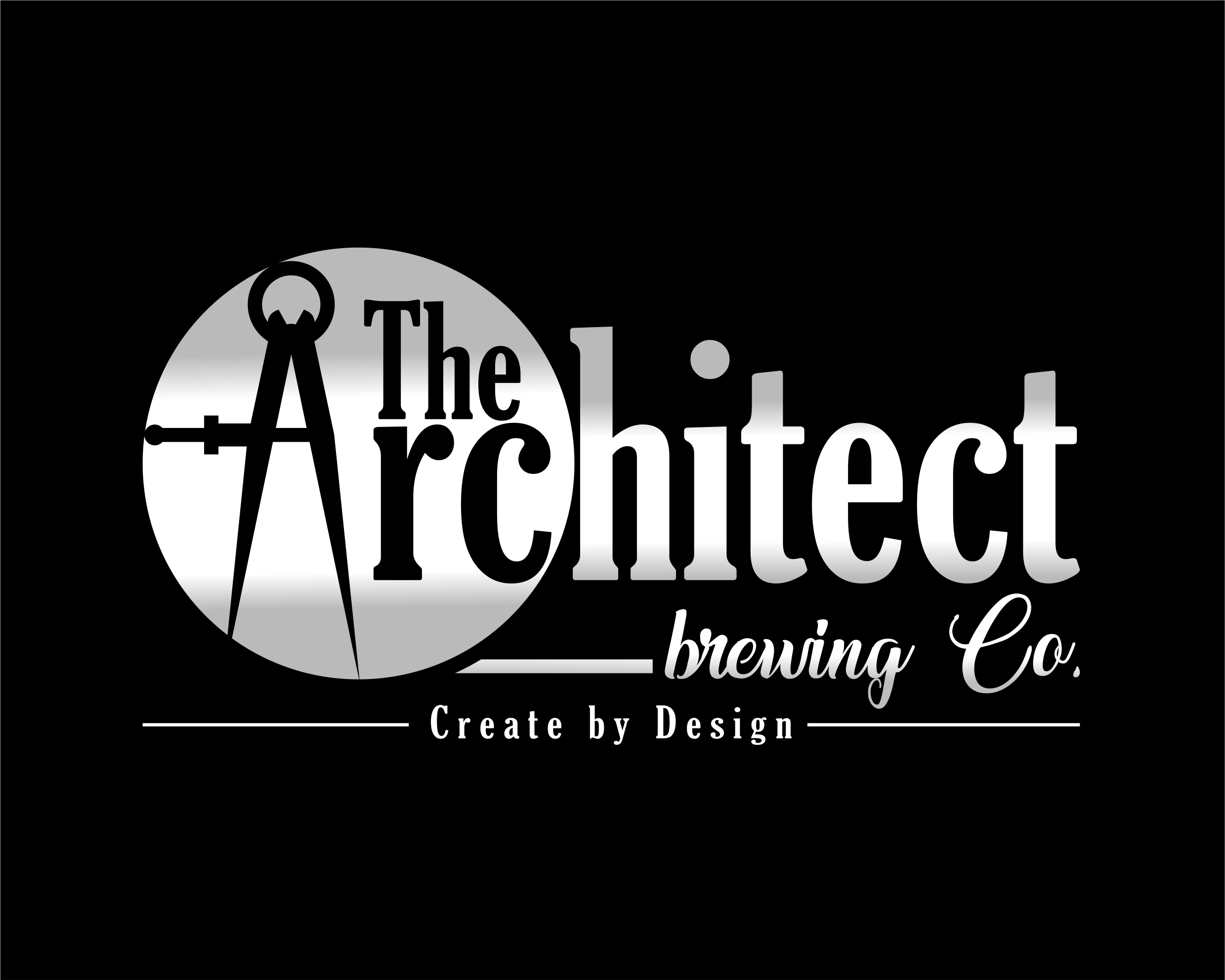 Logo Design by Net Bih - Entry No. 21 in the Logo Design Contest Captivating Logo Design for The Architect Brewing Co..