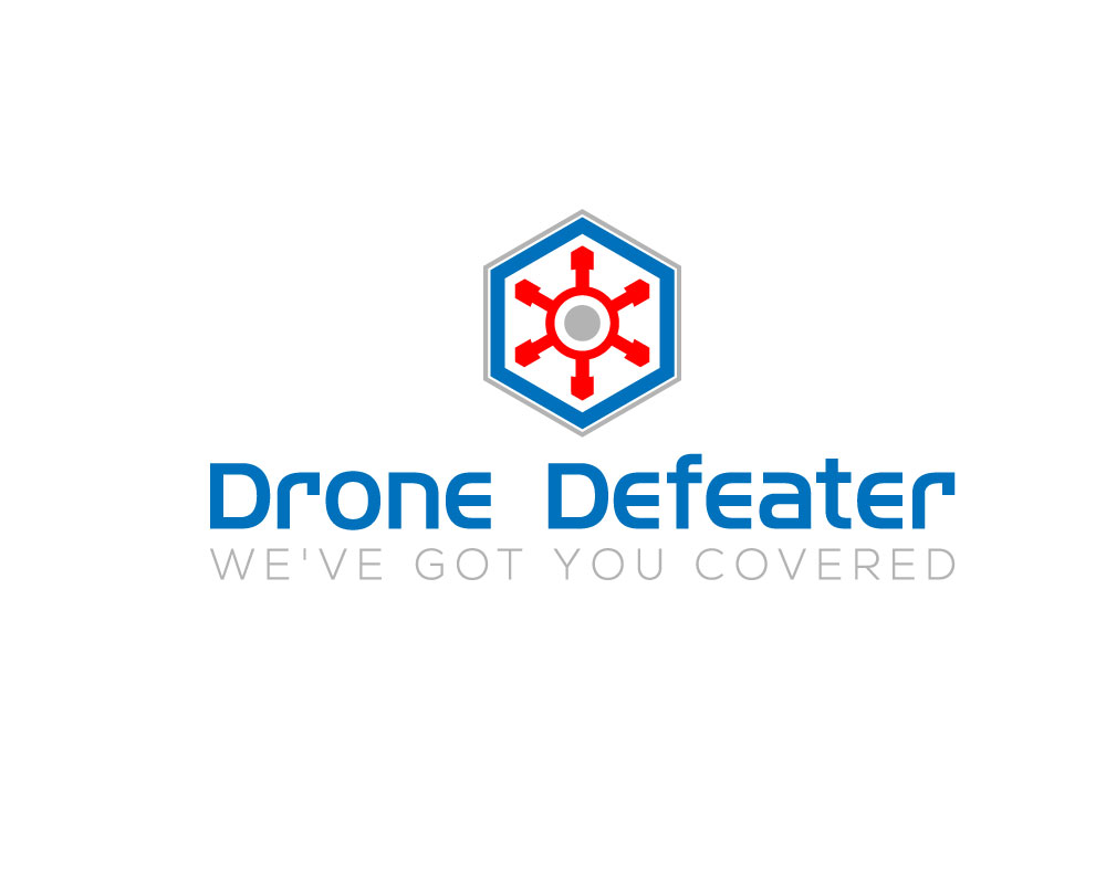 Logo Design by Mohammad azad Hossain - Entry No. 2 in the Logo Design Contest Artistic Logo Design for Drone Defeater.