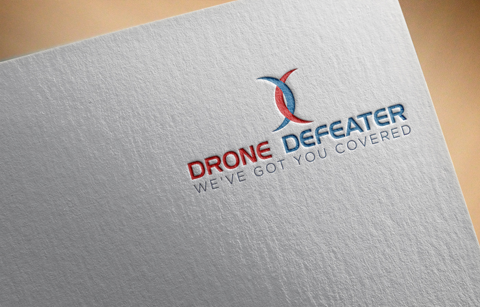 Logo Design by Mohammad azad Hossain - Entry No. 4 in the Logo Design Contest Artistic Logo Design for Drone Defeater.