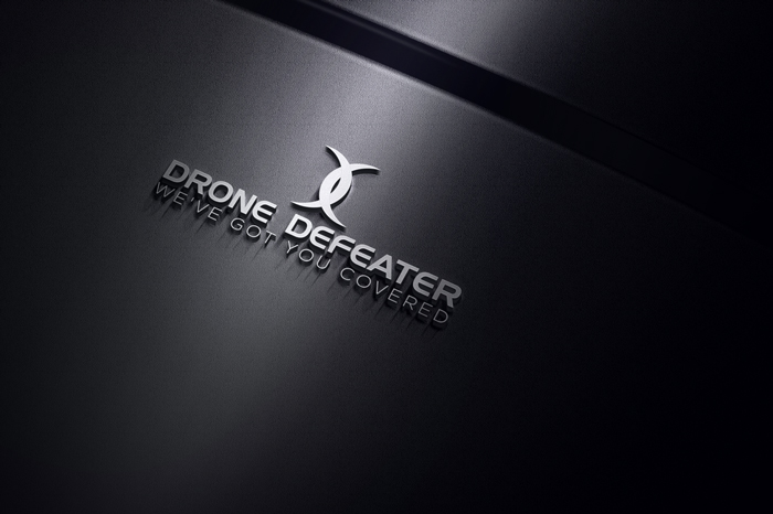 Logo Design by Mohammad azad Hossain - Entry No. 5 in the Logo Design Contest Artistic Logo Design for Drone Defeater.