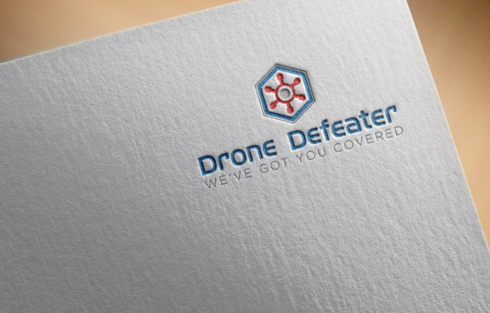 Logo Design by Mohammad azad Hossain - Entry No. 6 in the Logo Design Contest Artistic Logo Design for Drone Defeater.