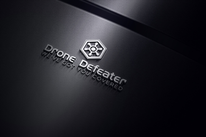 Logo Design by Mohammad azad Hossain - Entry No. 7 in the Logo Design Contest Artistic Logo Design for Drone Defeater.