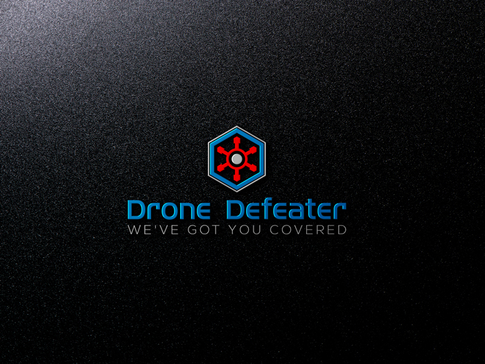 Logo Design by Mohammad azad Hossain - Entry No. 9 in the Logo Design Contest Artistic Logo Design for Drone Defeater.