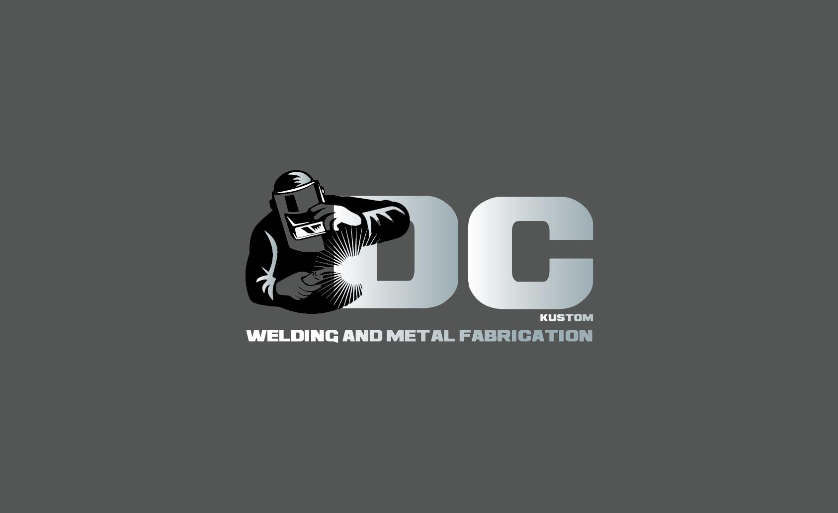 Logo Design by pojas12 - Entry No. 78 in the Logo Design Contest Imaginative Logo Design for DC KUSTOM WELDING & METAL FABRICATION.