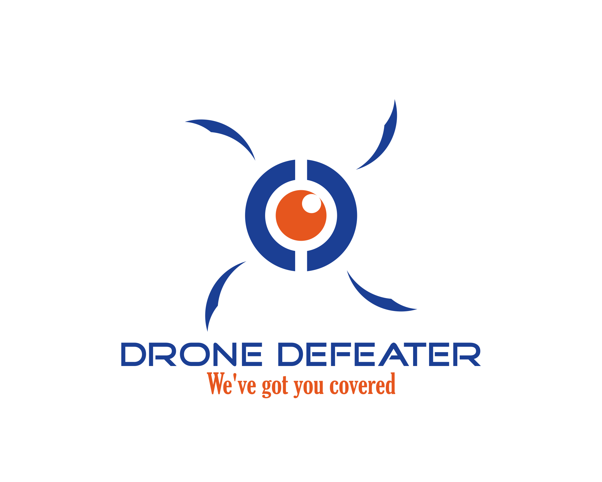 Logo Design by Net Bih - Entry No. 10 in the Logo Design Contest Artistic Logo Design for Drone Defeater.