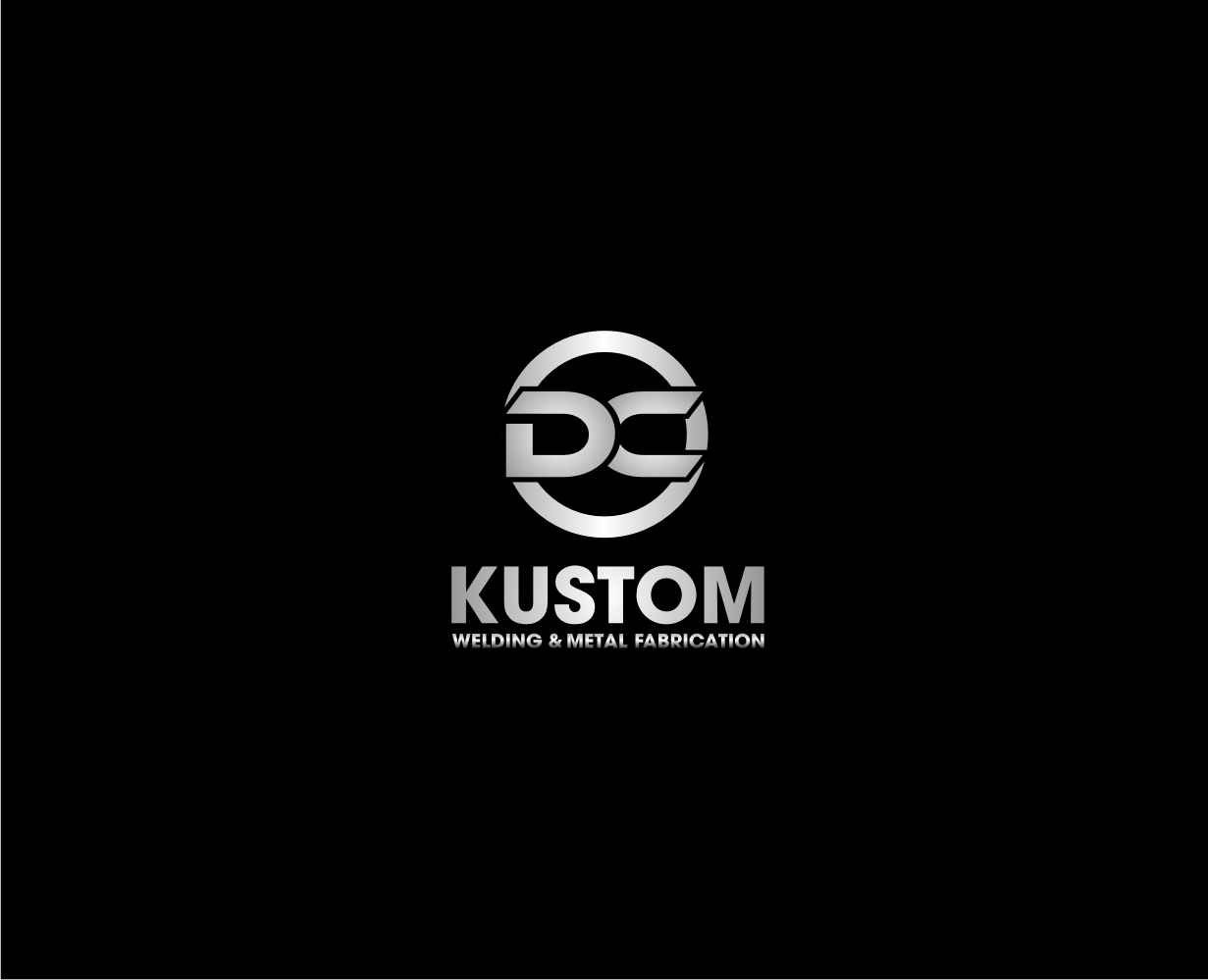 Logo Design by Khoirul Khoirul bejo - Entry No. 80 in the Logo Design Contest Imaginative Logo Design for DC KUSTOM WELDING & METAL FABRICATION.