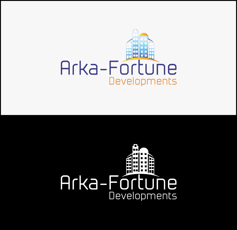 Logo Design by Designer Codes - Entry No. 71 in the Logo Design Contest Arka-Fortune Developments Logo Design.