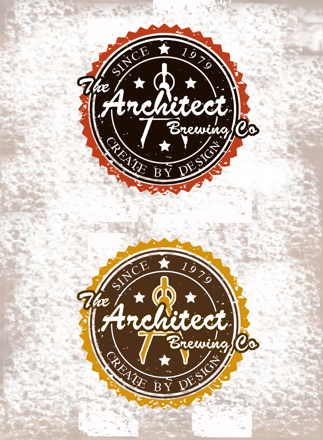 Logo Design by JSDESIGNGROUP - Entry No. 28 in the Logo Design Contest Captivating Logo Design for The Architect Brewing Co..