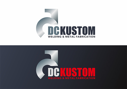 Logo Design by Ifan Afandie - Entry No. 85 in the Logo Design Contest Imaginative Logo Design for DC KUSTOM WELDING & METAL FABRICATION.