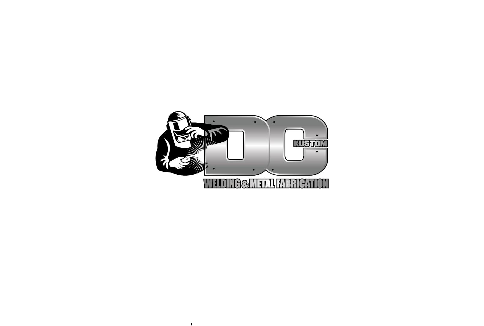 Logo Design by pojas12 - Entry No. 88 in the Logo Design Contest Imaginative Logo Design for DC KUSTOM WELDING & METAL FABRICATION.
