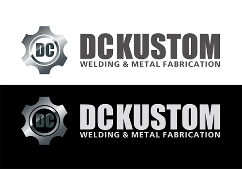 Logo Design by Ifan Afandie - Entry No. 89 in the Logo Design Contest Imaginative Logo Design for DC KUSTOM WELDING & METAL FABRICATION.