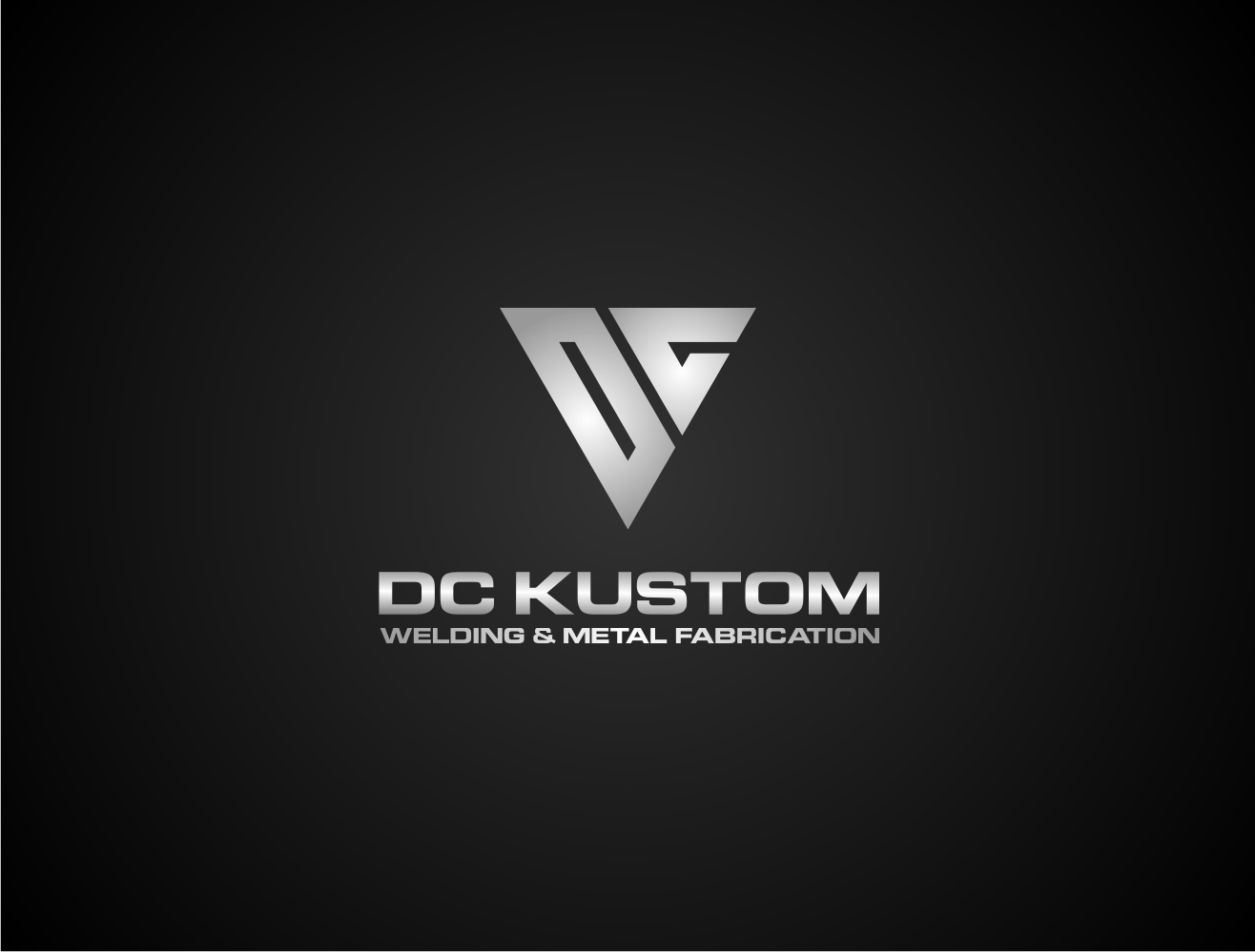 Logo Design by Khoirul Khoirul bejo - Entry No. 92 in the Logo Design Contest Imaginative Logo Design for DC KUSTOM WELDING & METAL FABRICATION.